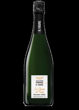 Les champs de Romy Champagne blanc de blancs extra brut