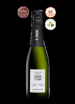 demi-bouteille - cuvée Reflet Naturel Champagne Blanc de Noirs Extra brut
