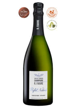 Magnum - cuvée Reflet Naturel Champagne Blanc de Noirs Extra brut